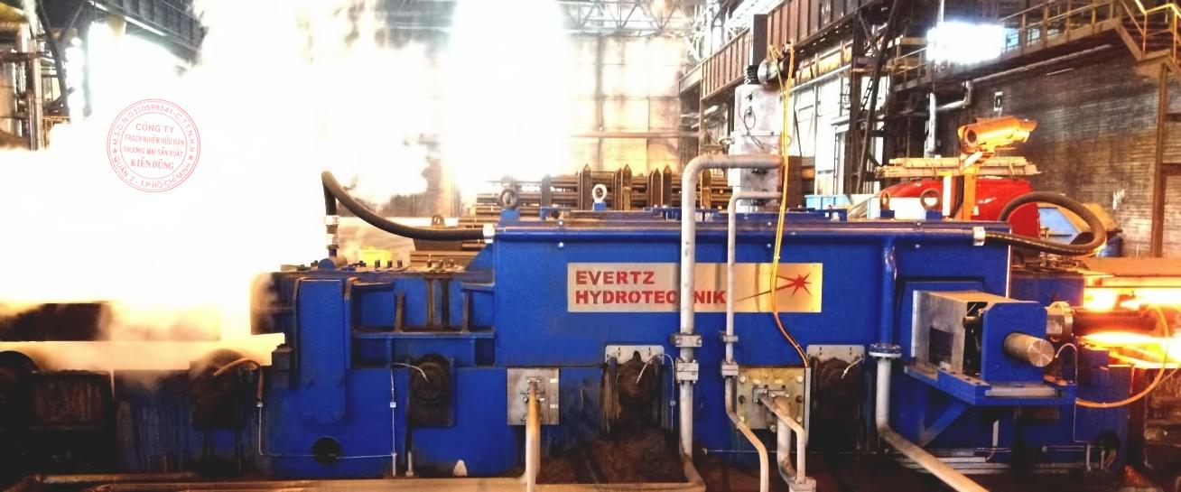 Evertz Hydrotechnik Banner