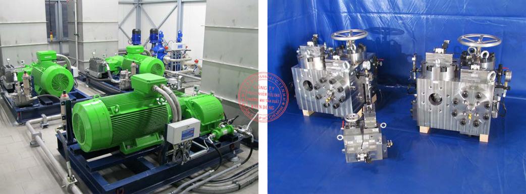 Pump Station; Filter Station; compl. Valve Technology 12