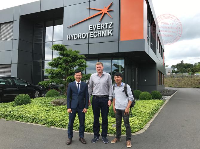 Kiên Dũng (KIDUCO) là đại diện thương hiệu Evertz Hydrotechnik tại Việt Nam