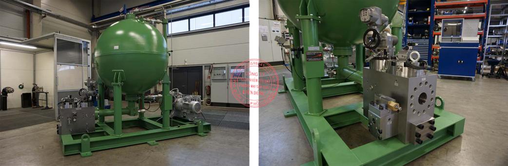 High Pressure AccumulatorUnit 3000l PN250 compl