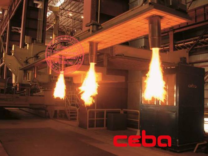 Ceba Tundish Preheaters and Dryers