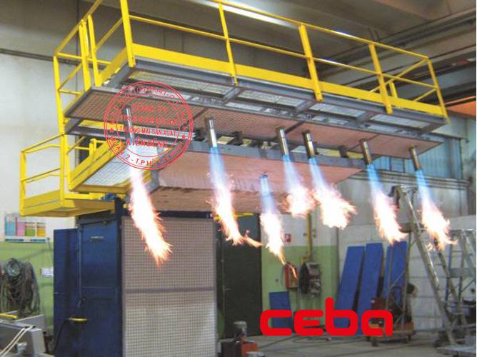 Ceba Tundish Preheaters and Dryers 1