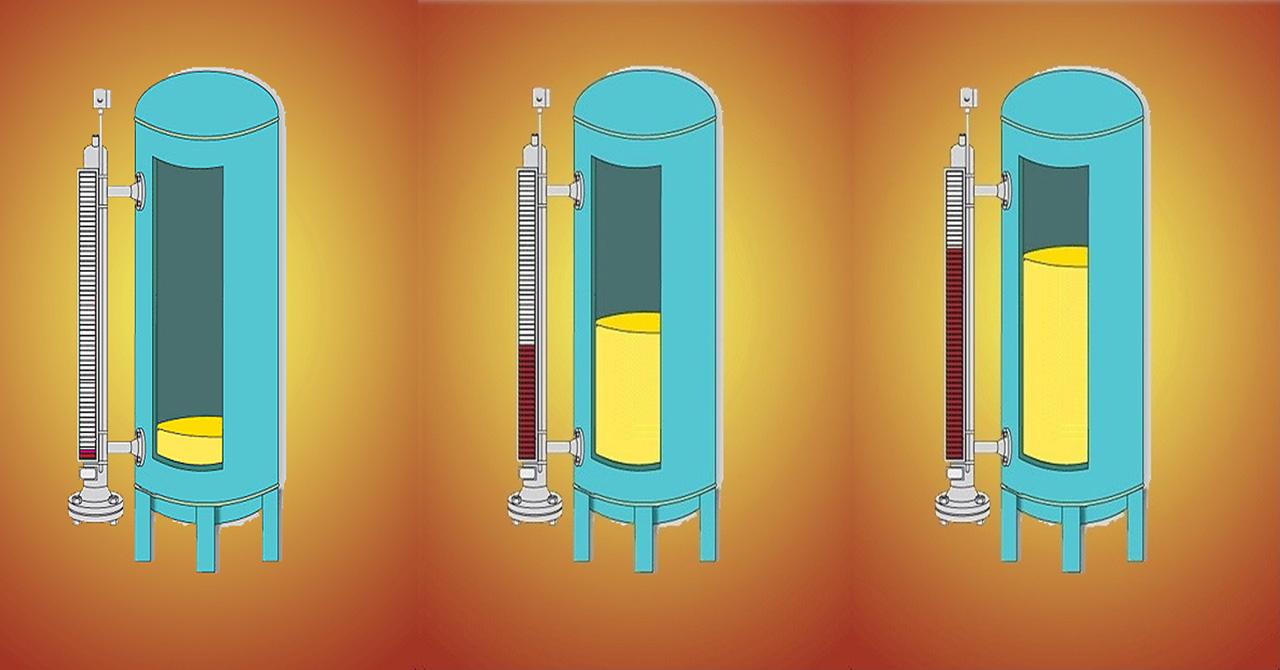 Nguyên lý hoạt động thước đo mức dạng từ tính Klinger Magnetic Level Gauges