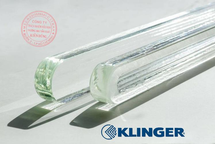Kính thủy cho thước đo mức Klinger Level Gauge Glass 4