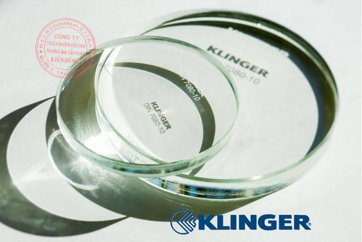 Kính thủy cho thước đo mức Klinger Level Gauge Glass 5