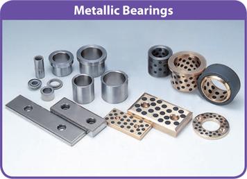 Bạc lót tự bôi trơn Metallic Bearings