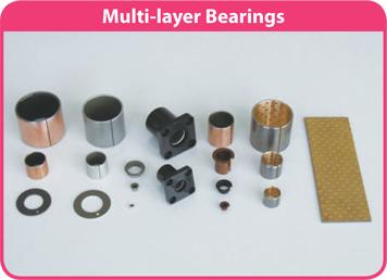 Bạc lót tự bôi trơn Multi-layer Bearings