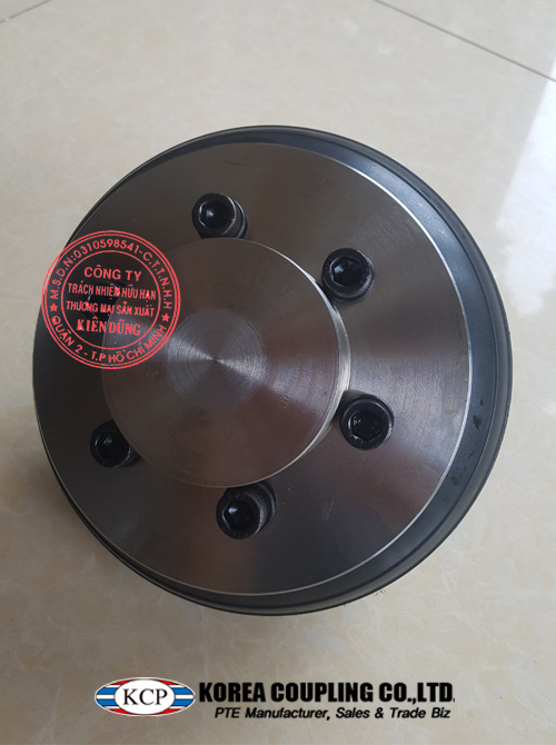 Khớp nối bánh xe cao su KCP Tire Coupling KCS-P 220 Complete
