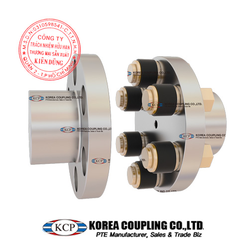 Khớp nối trục KCP Flange Flexible Couplings KFF Type