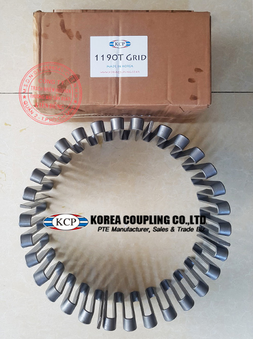 Bộ lưới cho khớp nối lò xo KCP Taper Grid Coupling 1190 T10