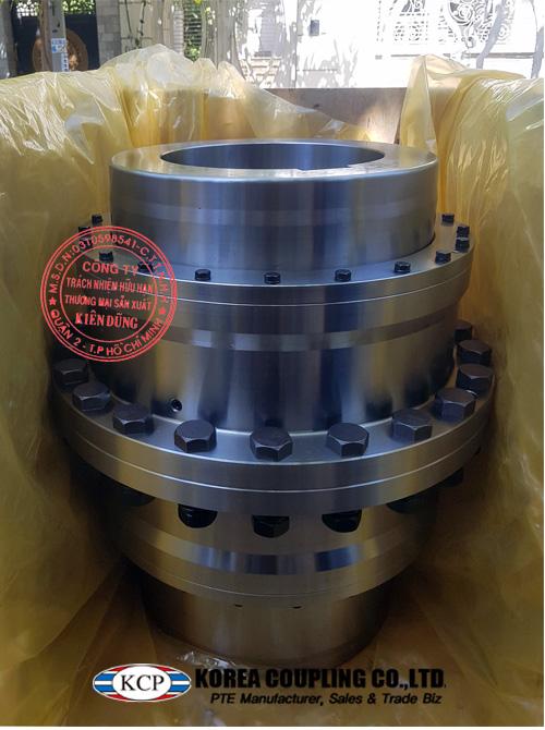 Trọn bộ khớp nối răng vỏ thép KCP Gear Coupling KCCM560 Complete 1