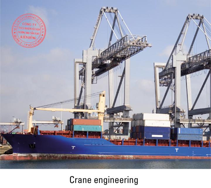 Khớp nối răng Malmedie Gear Coupling trong cẩu trục cầu cảng