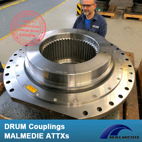 Khớp nối tang trống Malmedie Drum Coupling ATTXs