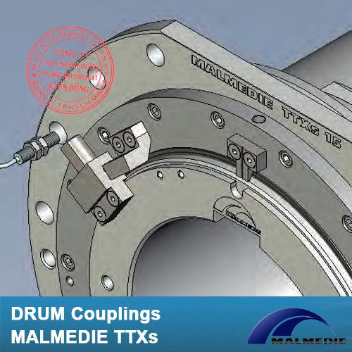 Khớp nối tang trống Malmedie Drum Coupling TTXs 15