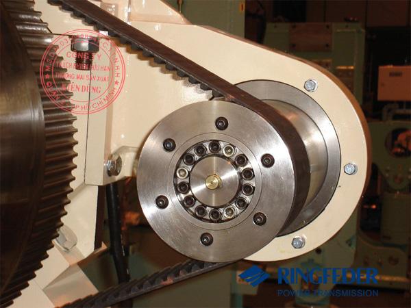 Thiết bị khóa trục côn Ringfeder RfN 7012 belt pulley