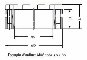 MAV 1062 Technical drawing