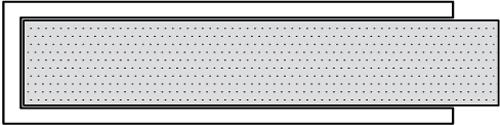 PTFE Envelope Gasket U-Type