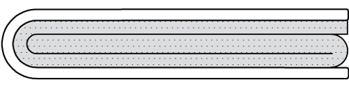 PTFE Envelope Gasket L-Type