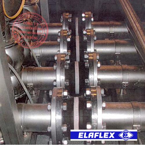 Khớp nối mềm cao su Elaflex Rubber Expansion Joint trong ứng dụng thực tế 2