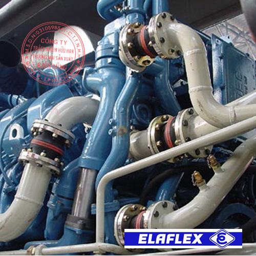 Khớp nối mềm cao su Elaflex Rubber Expansion Joint trong ứng dụng thực tế 3