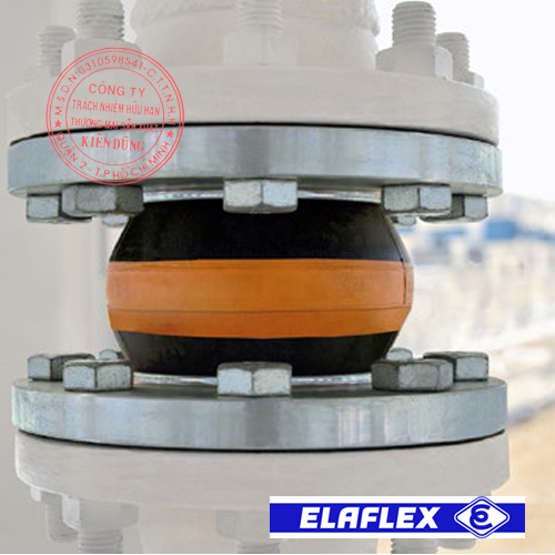 Khớp nối mềm cao su Elaflex Rubber Expansion Joint trong ứng dụng thực tế 5