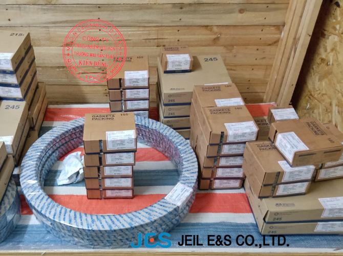 Gioăng đệm kim loại Hàn Quốc vật liệu SS316L kết hợp Graphite