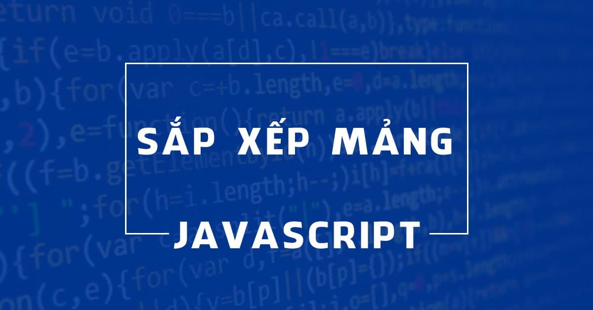 Cách sắp xếp (sort) tiếng Việt trong JavaScript