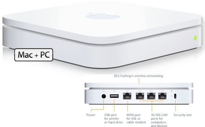 Apple AirPort Extreme A1354 (Used)