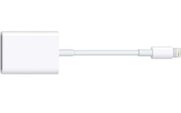 Apple Lightning to SD 3.0 (Model: A1595)