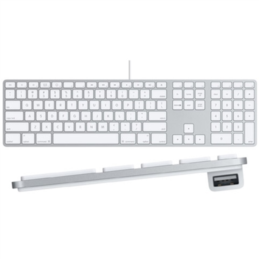 Apple A MBLL/A Wired Keyboard for sale online