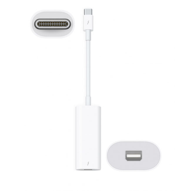 Apple  Thunderbolt 3 (Usb-C) To 2 Adapter (Used)