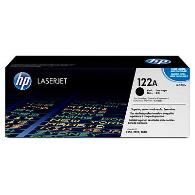 HP 122A Black Original LaserJet Toner Cartridge Q3960A