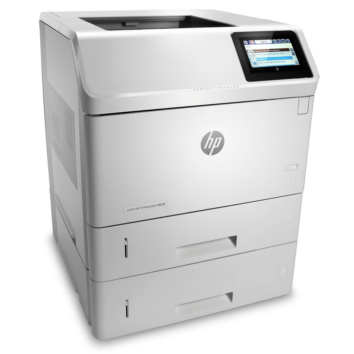 HP LaserJet Ent 600 M605x Printer