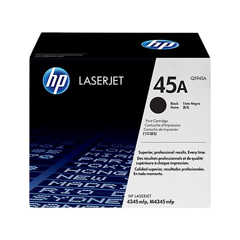 Hộp Mực Máy In  HP 45A Black Original LaserJet Toner Cartridge (Q5945A)