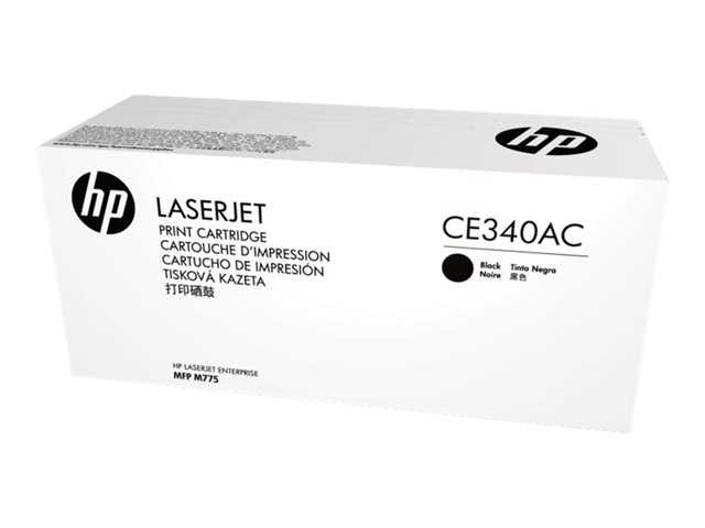 Mực in HP CE340AC Black Contract Original LaserJet Toner Cartridge (CE340AC)