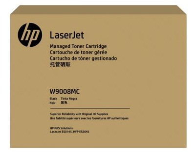 HP W9008MC Black Managed LaserJet Toner Cartridge ( W9008MC )