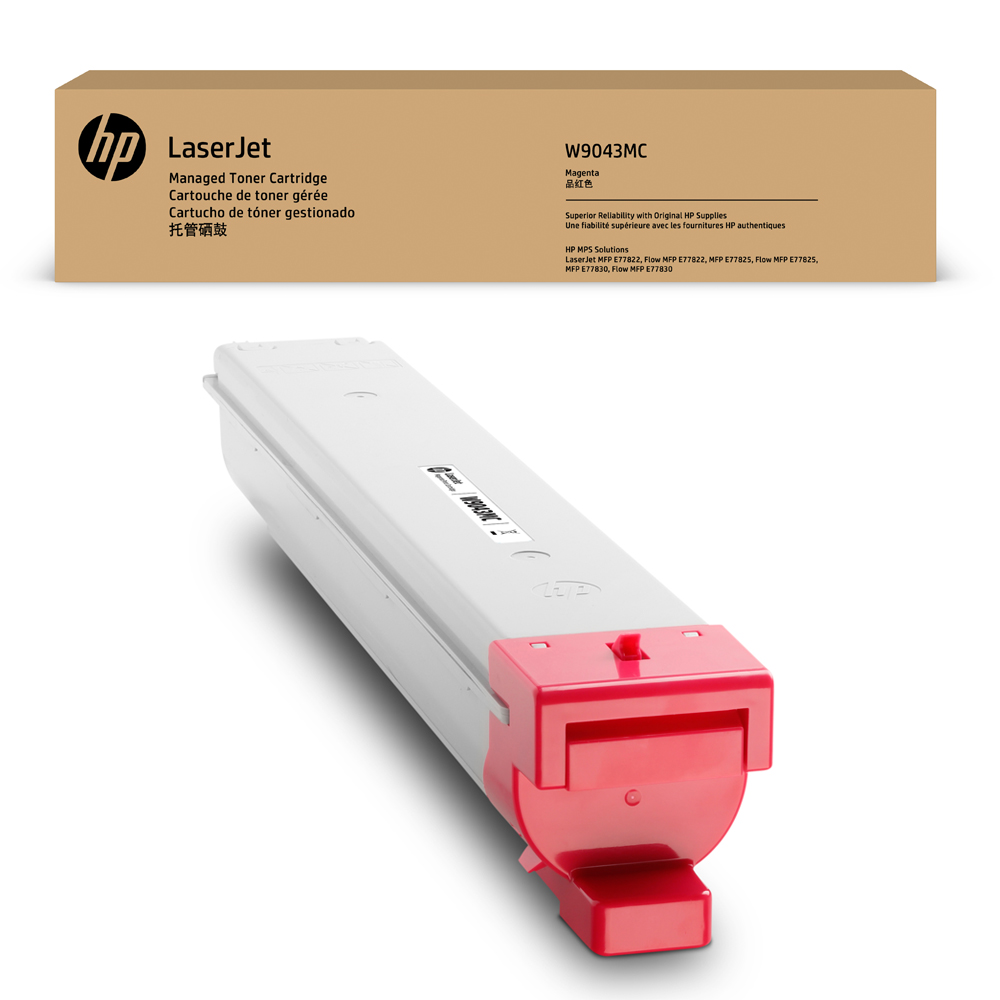 HP W9043MC Magenta Original LaserJet Toner Cartridge (W9043MC)