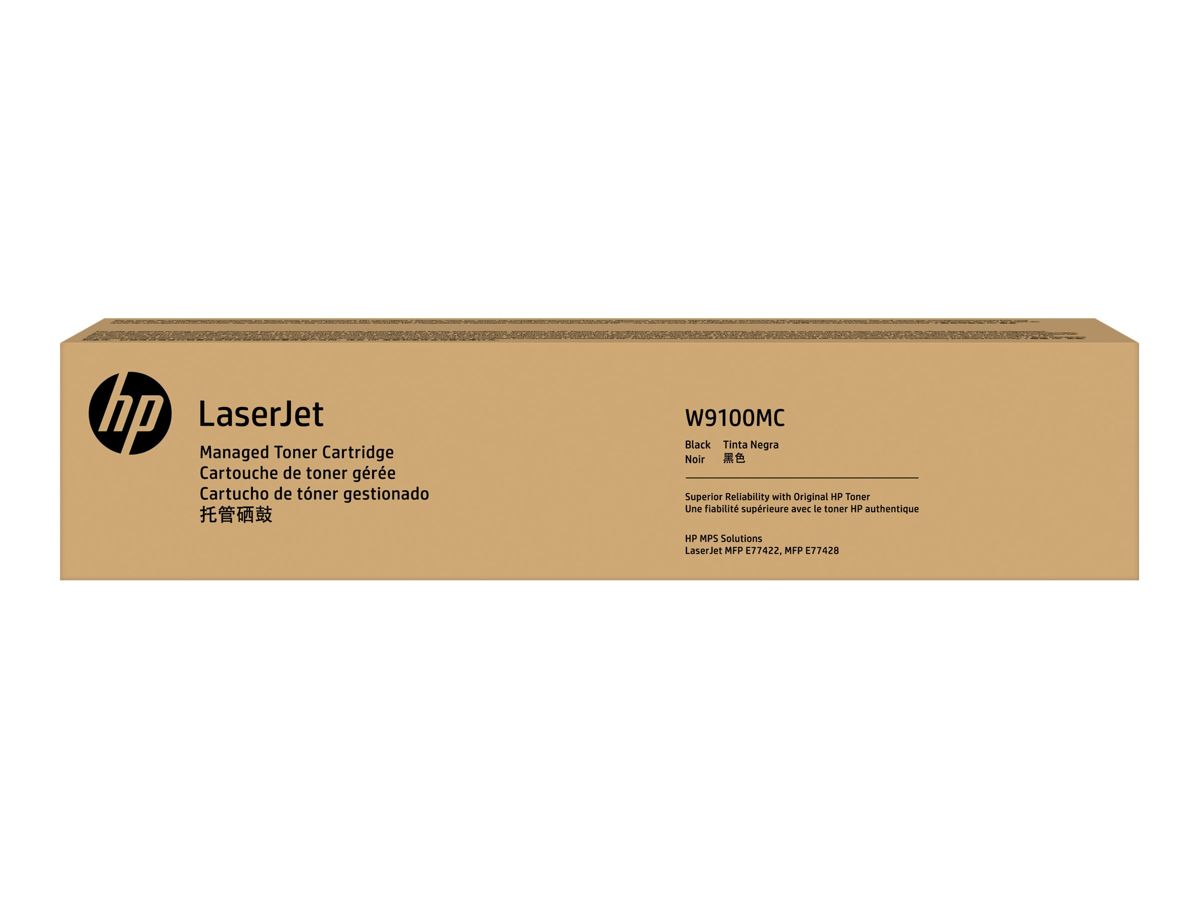 HP Black LaserJet toner cartridge (W9100MC)