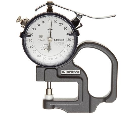 Đồng hồ đo chiều dày 0-1mm x 0.001