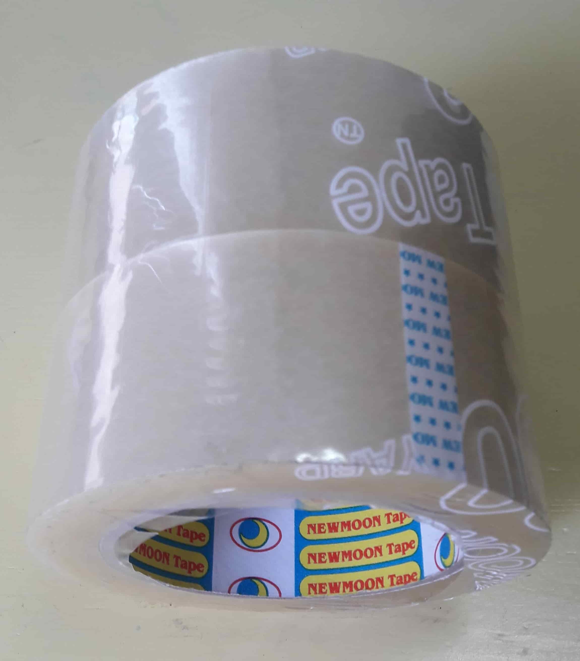 Băng keo OPP (52 mic) 48mm x 100Y (90m) (6 cuộn/cây, 500 cuộn/thùng)