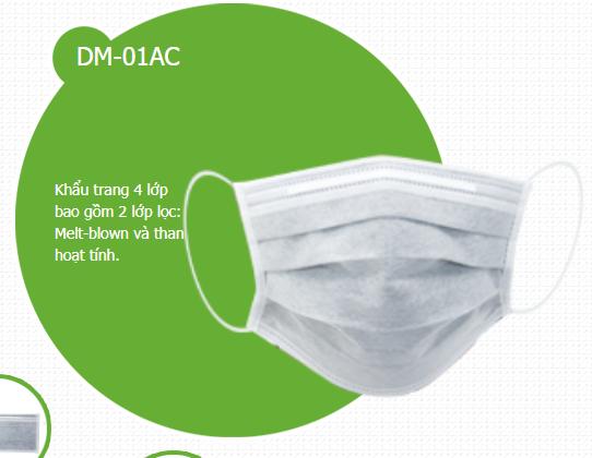 Khẩu trang y tế  DM-01AC