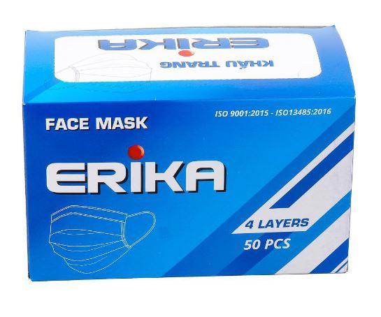 Khẩu trang y tế 4 lớp Erika