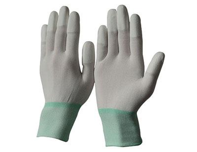 Găng tay len phủ ngón PU