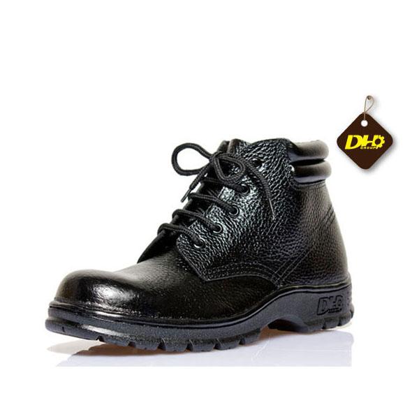 Giày bảo hộ lao động DH-group cao cổ da sần