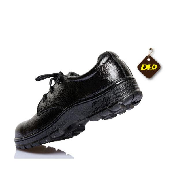 Giày bảo hộ lao động DH-group thấp cổ da sần