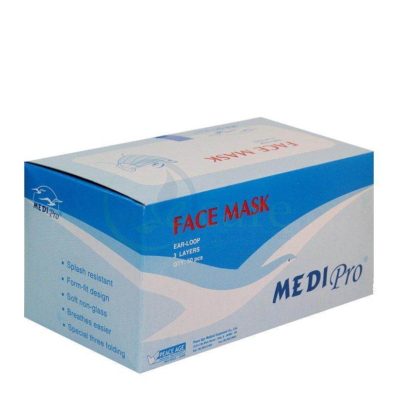 Khẩu trang y tế 3 lớp Medipro