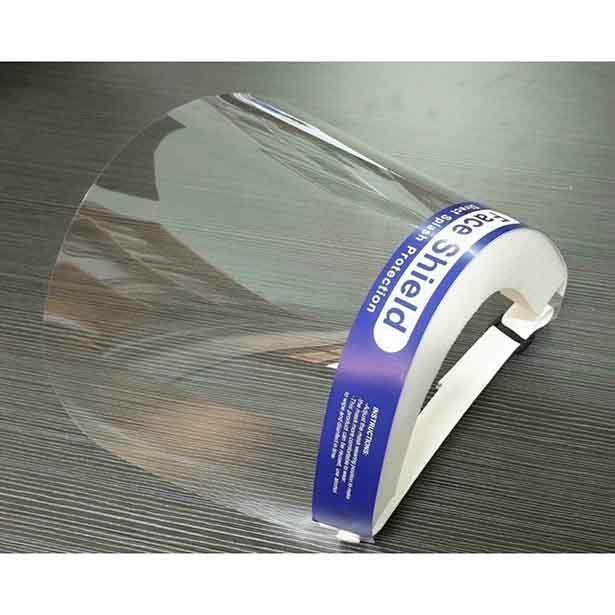 Face shield, kính chống giọt bắn