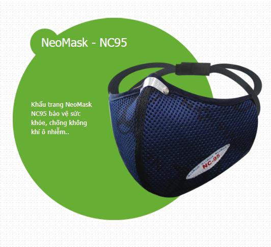 Khẩu trang chống độc NeoMask NC95