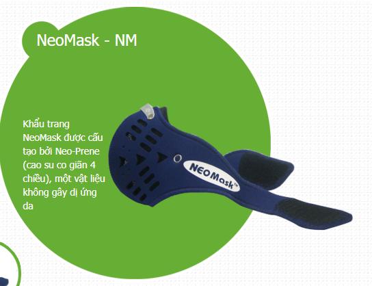 Khẩu trang chống độc NeoMask