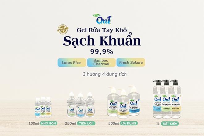 Gel rửa tay khô fresh sakura 250ml